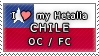 APH I love my Chile OC Stamp by megumimaruidesu