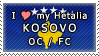 APH I love my Kosovo OC Stamp by megumar