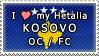 APH I love my Kosovo OC Stamp by megumimaruidesu