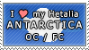 APH I love my Antarctica OC Stamp by megumar
