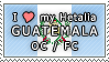 APH I love my Guatemala OC Stamp by megumar