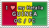 APH I love my Guinea OC Stamp by megumar