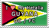 APH I love my Guyana OC Stamp by megumar
