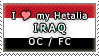 APH I love my Iraq OC Stamp by megumimaruidesu