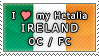 APH I love my Ireland OC Stamp by megumimaruidesu