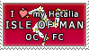 APH I love my Isle Of Man OC Stamp by megumimaruidesu