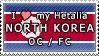 APH I love my North Korea OC Stamp