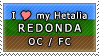 APH I love my Redonda OC Stamp by megumimaruidesu