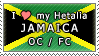 APH I love my Jamaica OC Stamp by megumimaruidesu