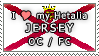 APH I love my Jersey OC Stamp by megumimaruidesu
