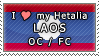 APH I love my Laos OC Stamp by megumimaruidesu