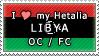APH I love my Libya OC Stamp by megumimaruidesu