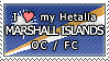 APH I love my Marshall Islands OC Stamp by megumimaruidesu
