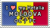 APH I love my Moldova OC Stamp by megumar
