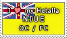 APH I love my Niue OC Stamp by megumar