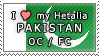 APH I love my Pakistan OC Stamp by megumar