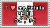 APH I love my Peru OC Stamp by megumimaruidesu