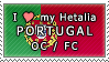 APH I love my Portugal OC Stamp by megumar