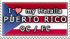 APH I love my Puerto Rico OC Stamp by megumar