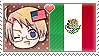 APH Chibi Heads America x Mexico Stamp by megumar