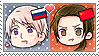 APH Chibi Heads Russia x China Stamp by megumar