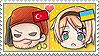 APH Chibi Heads Turkey x Ukraine Stamp by megumimaruidesu