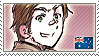APH Australia Stamp by megumimaruidesu