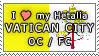 APH I love my Vatican City OC Stamp by megumimaruidesu