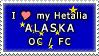 APH I love my Alaska OC Stamp by megumimaruidesu