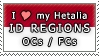 APH I love my ID Regions OCs Stamp by megumar
