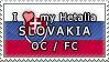 APH I love my Slovakia OC Stamp by megumar