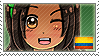 APH Colombia Stamp by megumimaruidesu