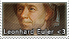 Leonhard Euler Stamp by megumimaruidesu