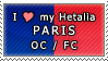 APH I love my Paris OC Stamp by megumimaruidesu