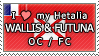 APH I love my Wallis and Futuna OC Stamp by megumimaruidesu