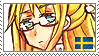 APH Fem!Sweden Stamp by megumimaruidesu