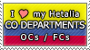 APH I love my CO Departments OCs Stamp by megumimaruidesu