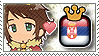 APH King GreeSerb Stamp by megumimaruidesu