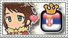 APH King GreeSerb Stamp by megumimaruidesu