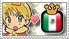 APH King BritaMexi Stamp by megumimaruidesu
