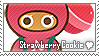 Strawberry Cookie Stamp by megumar