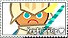 Knight Cookie Stamp by megumar