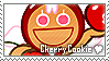 Cherry Cookie Stamp by megumar
