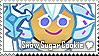 Snow Sugar Cookie Stamp by megumar