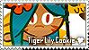 Tiger Lily Cookie Stamp by megumar