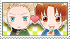 APH Checkered GerIta Stamp by megumimaruidesu