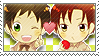 APH Checkered Spamano Stamp by megumimaruidesu