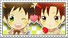 APH Checkered Spamano Stamp by megumimaruidesu
