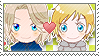 APH Checkered FrArc Stamp by megumimaruidesu