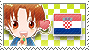 APH Checkered ItaCro Stamp by megumimaruidesu